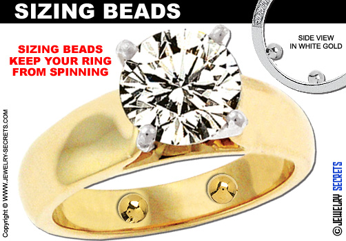 rings with enlarged or spring insert adjustable swollen russian fitting ring solutions for knuckles shanks
