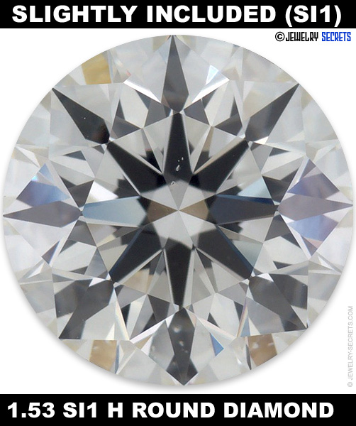 pinpoints diamonds crystals ok throughout diamond slightly scattered included video are clarity examples