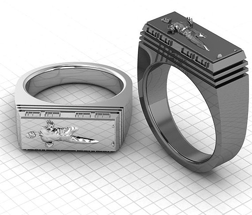 Star Wars Han Solo Bounty Hunter Ring!