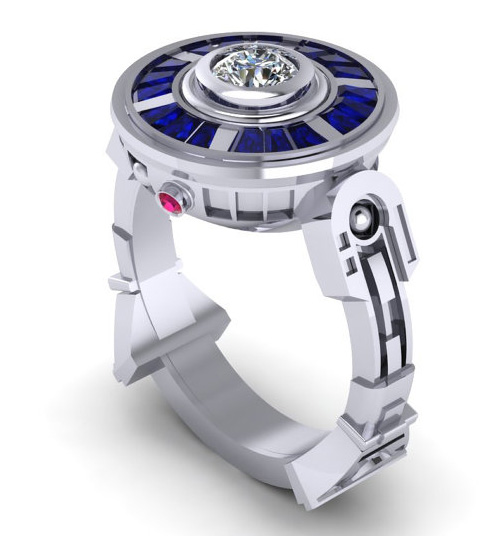Star Wars R2D2 Droid Ring!