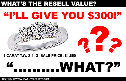The Going Rate for Reselling Diamonds and Gold!
