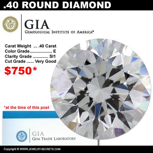 .40 Carat Loose Certified Diamond Sale!