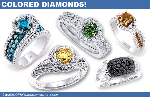 Trade In Towards New Colored Diamond Rings!