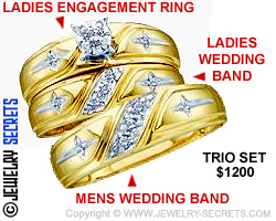 Trio Engagement Ring!