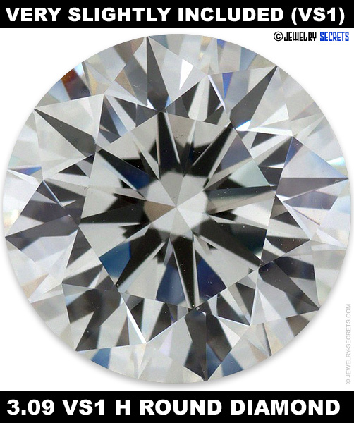 chart included grading scale clarity diamond education slightly
