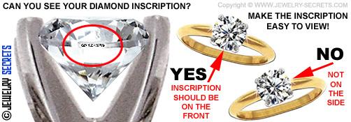 View your Diamond Inscription