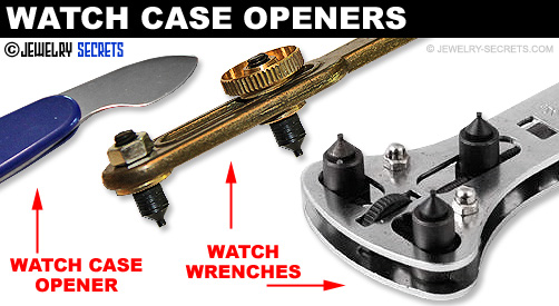 Watch Case Openers