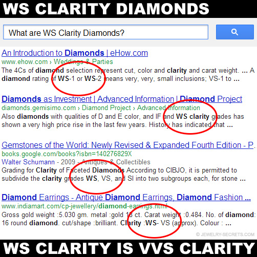 WS Clarity Diamond Search!
