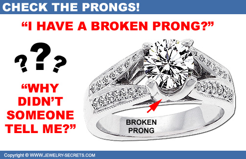 Your Ring has a Broken Prong!