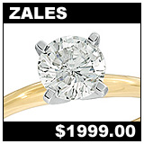 Zales 1 Carat Diamond Solitaire Ring!