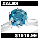 Zales 3/4 Carat Diamond Solitaire Ring!