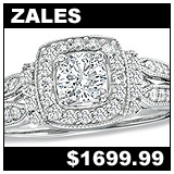 Zales 3/4 Carat Diamond Engagement Ring!