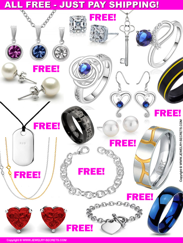 all free jewelry just pay shipping jewelry secrets
