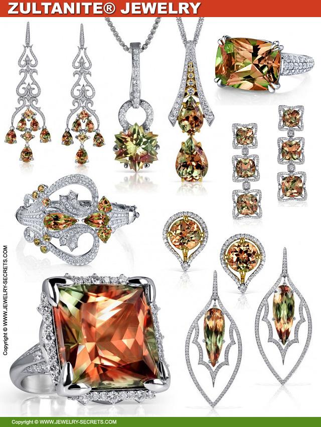 Beautiful Zultanite Gemstone Jewelry