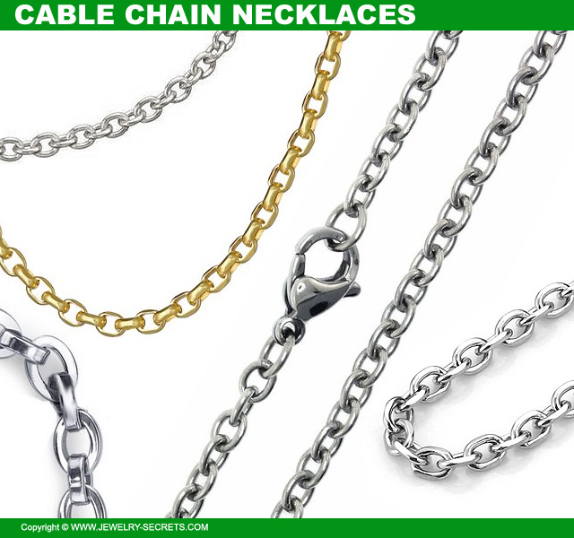 chain cable black womens dp rolo steel necklace stainless fosir mens