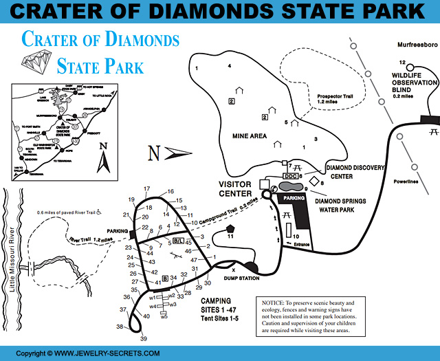 Merveilleux Crater Of Diamonds State Park