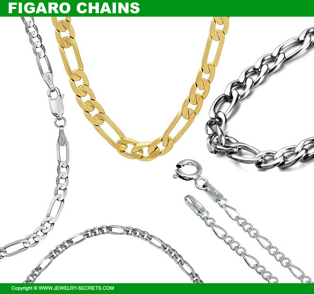 Figaro Chain Necklaces