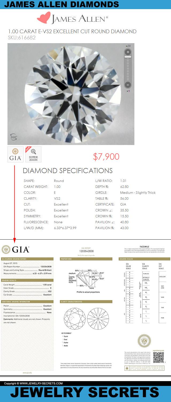 Genuine Certified Loose Diamond