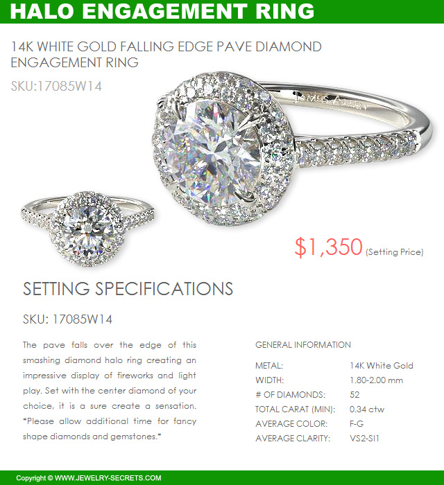 Save Big Money With Halo Engagement Rings