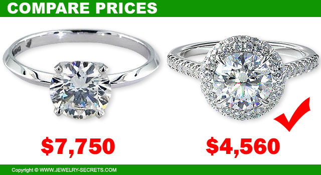 Save Money With Halo Engagement Rings