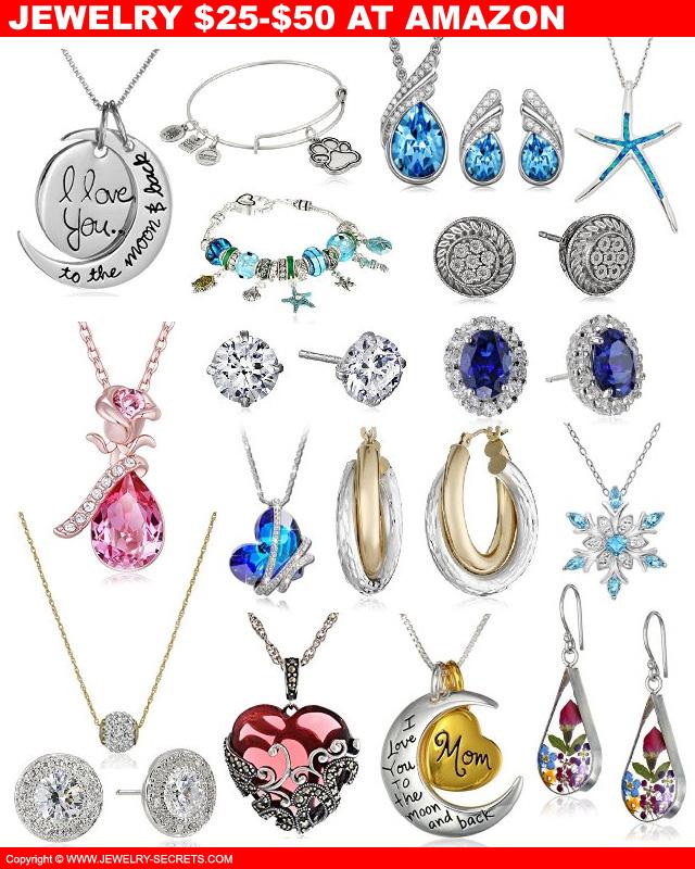 Amazon Jewelry Under Fifty Bucks