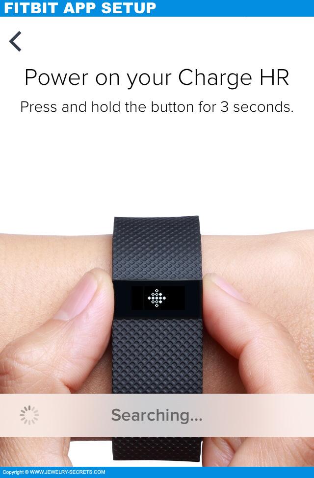Fitbit Charge HR App Setup