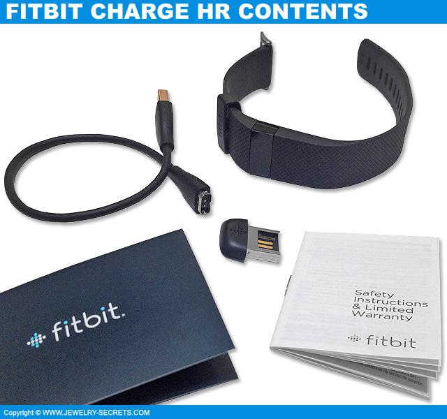 Fitbit Charge HR Box Contents