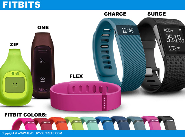 Fitbits Designs Styles And Colors