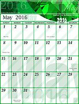 Free May 2016 Calendar!