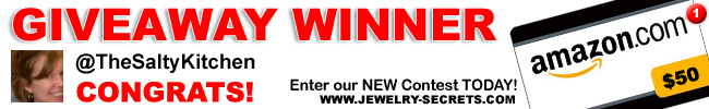 Jewelry Giveaway 1 Winner