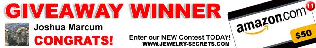 jewelry giveaway 11 winner