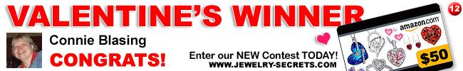 jewelry giveaway 12 winner