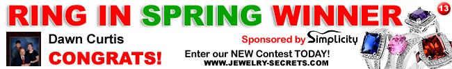 Jewelry Giveaway 13 Winner