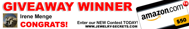 Jewelry Giveaway 14 Winner