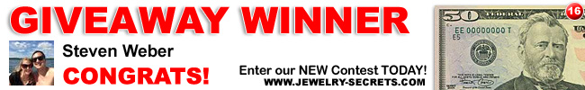 Jewelry Giveaway 16 Winner