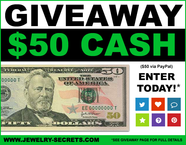 Jewelry Cash Giveaway 16