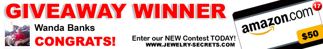 Jewelry Giveaway 17 Winner