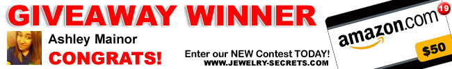 Jewelry Giveaway 19 Winner