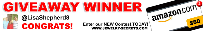 Jewelry Giveaway 2 Winner