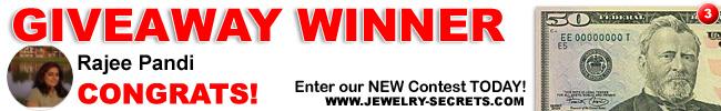 Jewelry Giveaway 3 Winner
