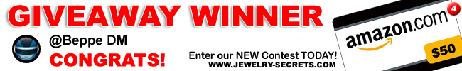 Jewelry Giveaway 4 Winner
