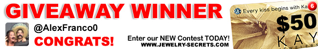 Jewelry Giveaway 6 Winner