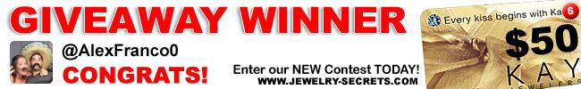 Jewelry Giveaway 6 Winner