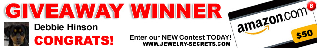 Jewelry Giveaway 8 Winner