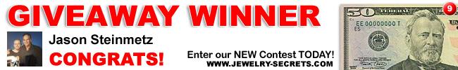 jewelry giveaway 9 winner