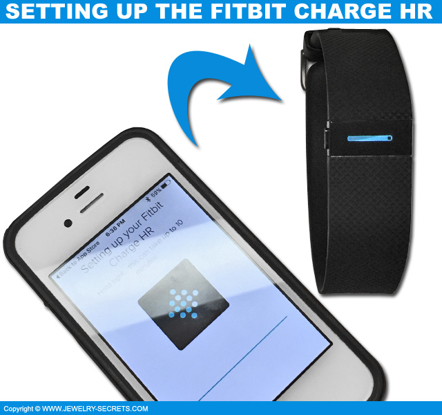 How To Setup Fitbit Charge Hr On Iphone