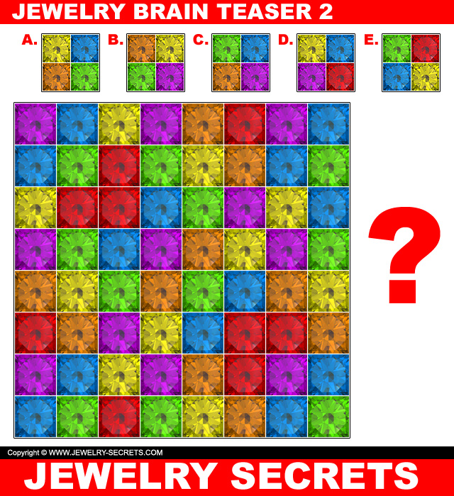 Jewelry Brain Teaser Puzzle 2
