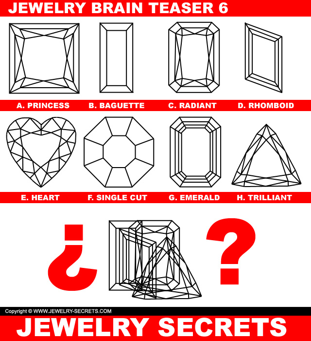 Jewelry Brain Teaser Puzzle 6
