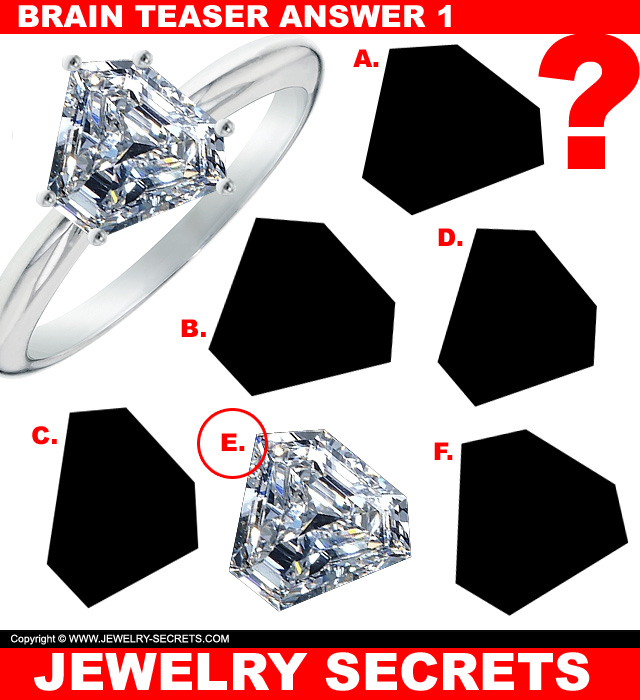 Jewelry Brain Teaser Puzzle Answer 1