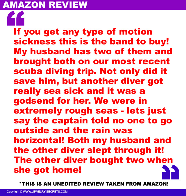 Reliefband Motion Sickness Review 5